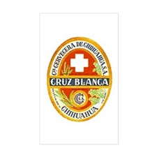 Mexico Beer Label 4 Decal