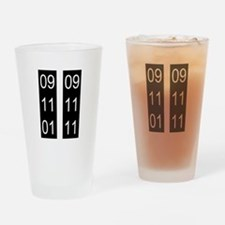 9/11 tenth Drinking Glass