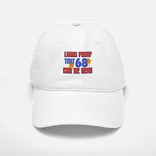 Cool 68 year old birthday design Baseball Baseball Cap
