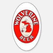 Michigan Beer Label 1 Decal