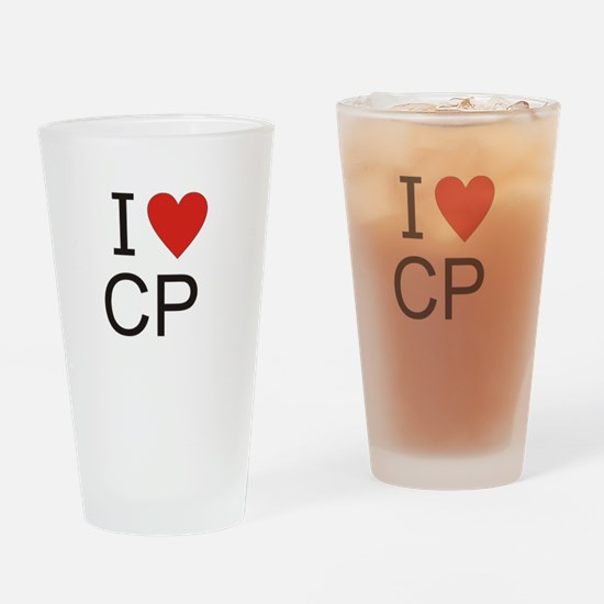 Cute Cp Drinking Glass