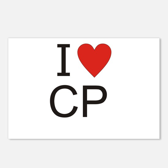Cute Cp Postcards (Package of 8)