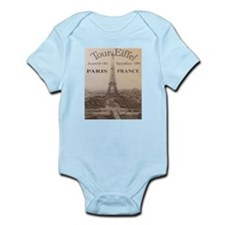 VINTAGE EIFFEL TOWER Infant Bodysuit