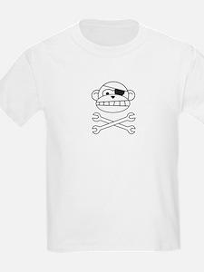 Pirate Monkey Kids T-Shirt