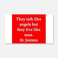 Saint Jerome 22x14 Wall Peel