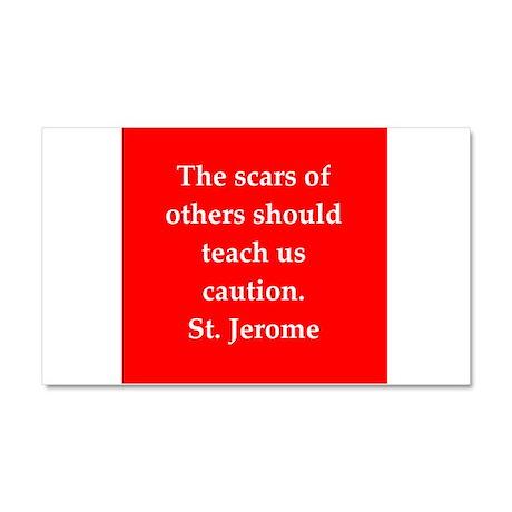 Saint Jerome Car Magnet 20 x 12