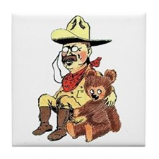 Theodore Roosevelt Tile Coaster