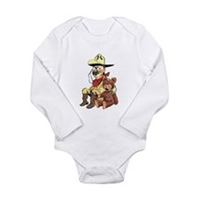 Theodore Roosevelt Long Sleeve Infant Bodysuit