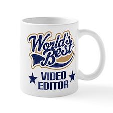 Video Editor Gift (Worlds Best) Mug