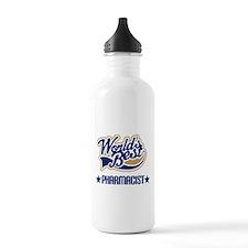 Pharmacist Gift (Worlds Best) Water Bottle