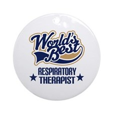 Respiratory Therapist Gift (Worlds Best) Ornament