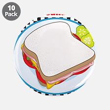 "Sandwich 3.5"" Button (10 pack)"