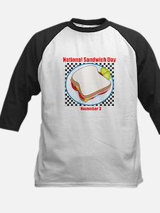Sandwich Kids Baseball Jersey