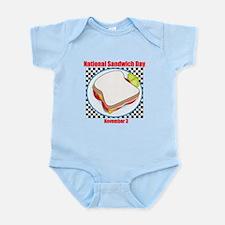 Sandwich Infant Bodysuit