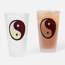 Prismatic Yin Yang Drinking Glass