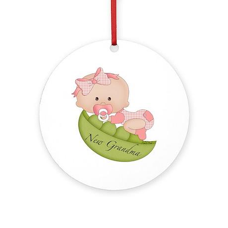 2012 Grandma (p) Ornament (Round)