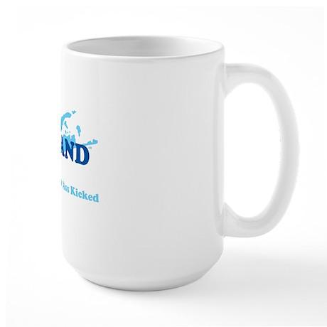 Strong Island - BLUE Large Mug