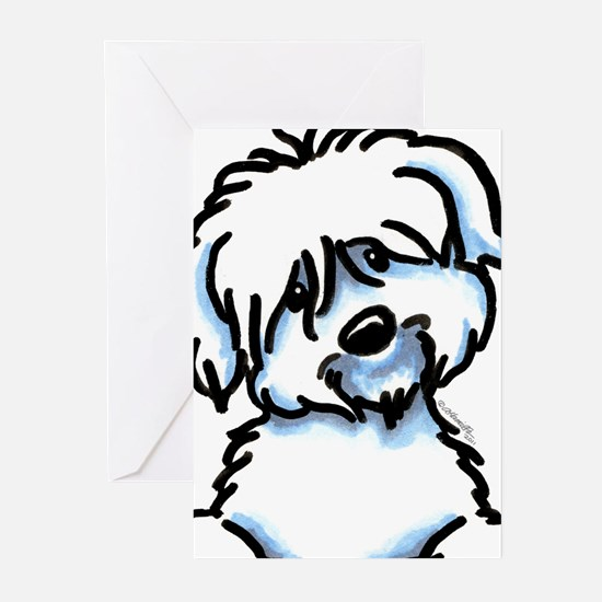 Coton de Tulear Funny Greeting Cards (Pk of 10)