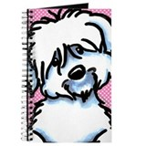 Coton de tulear journal Journals & Spiral Notebooks