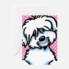 Coton de Tulear Funny Greeting Card