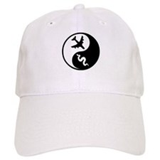 Yin Yang Snakes on a Plane Baseball Cap