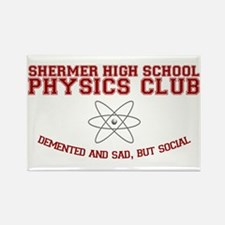 Physics Club Rectangle Magnet
