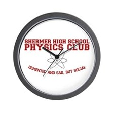 Physics Club Wall Clock