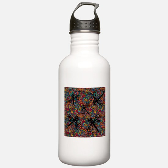 Hippy Dragonfly Flit Sports Water Bottle