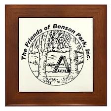 Benson Park Hudson NH USA Framed Tile