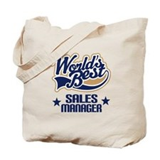 Sales Manager Gift (Worlds Best) Tote Bag