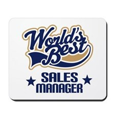 Sales Manager Gift (Worlds Best) Mousepad