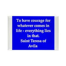 Saint Teresa of Avila Rectangle Magnet
