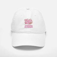 School Psychologist Gift (Worlds Best) Baseball Baseball Cap