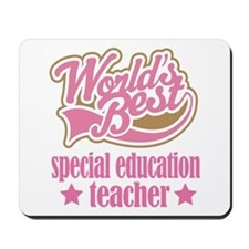 Special Education Teacher Gift (Worlds Best) Mouse