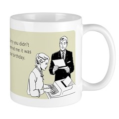 Birthday Reminder Mug
