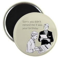 Birthday Reminder Magnet