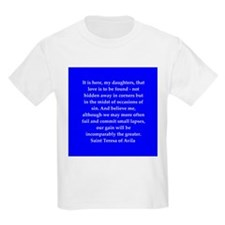 Saint Teresa of Avila T-Shirt