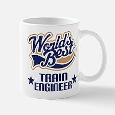 Train Engineer Gift (Worlds Best) Mug