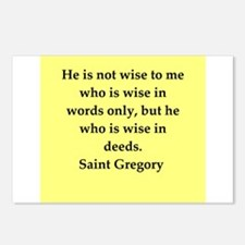Saint Gregory Postcards (Package of 8)