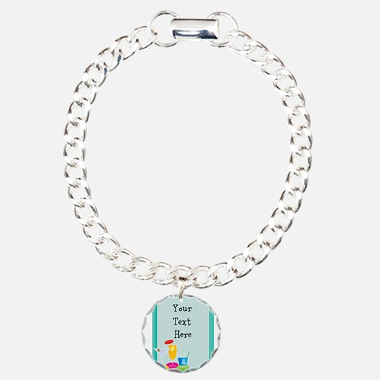 Cocktail Border Bracelet