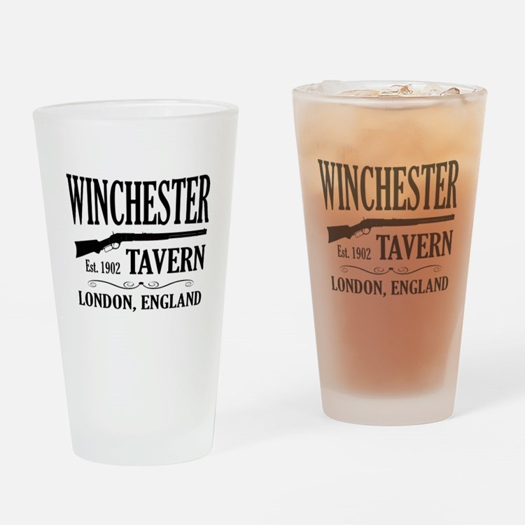 Winchester Tavern Shaun of the Dead Drinking Glass