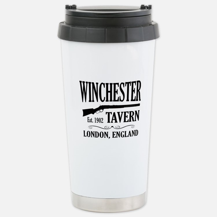 Winchester Tavern Shaun of the Dead Stainless Stee