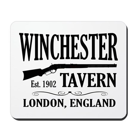 Winchester Tavern Shaun of the Dead Mousepad