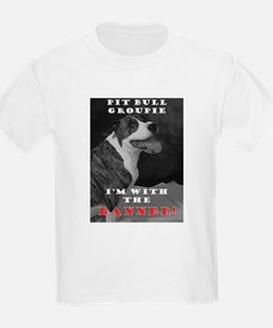 Pit Bull I'm with the banned! T-Shirt