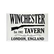 Winchester Tavern Shaun of the Dead Rectangle Magn
