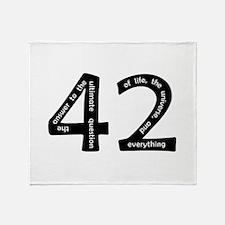 42 Throw Blanket