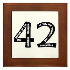 42 Framed Tile