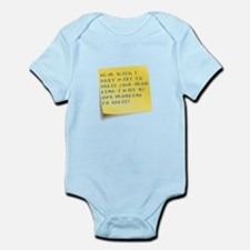 Math solve Infant Bodysuit