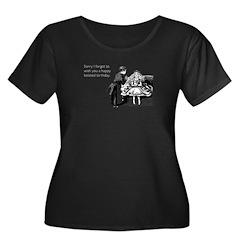 Women's Plus Size Scoop Neck T-Shirt (dark)