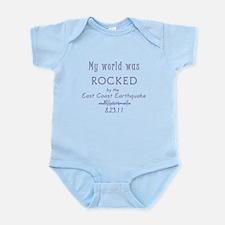 My World Was Rocked Infant Bodysuit